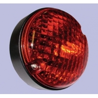 LR048201 (XFE500010) Priešrūkinis žibintas, galinis (1998-)(apvalus)