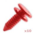 DKP5279L(X10) Bagažinės durų apmušalų tvirtinimo elеmentai (10vnt.) (Discovery 1&2)