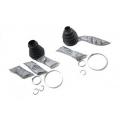 TDR000120 Pusašio lankstų apsauginių gumų komplektas (RR L322)
